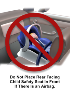 child Safety Seat Placement inside Car