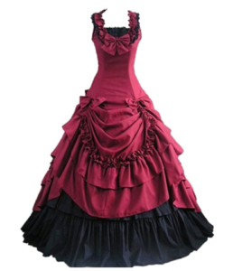 Victorian Bowknot Ball Dress