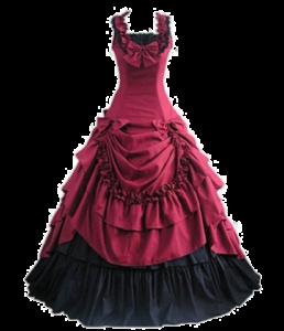 Victorian Bowknot Ball Dress