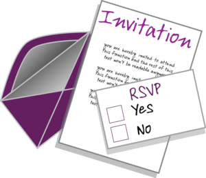 how to rsvp by email
